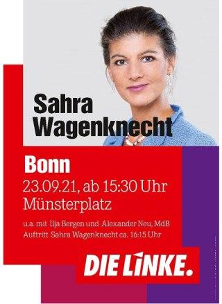 Sahra Wagenknecht in Bonn