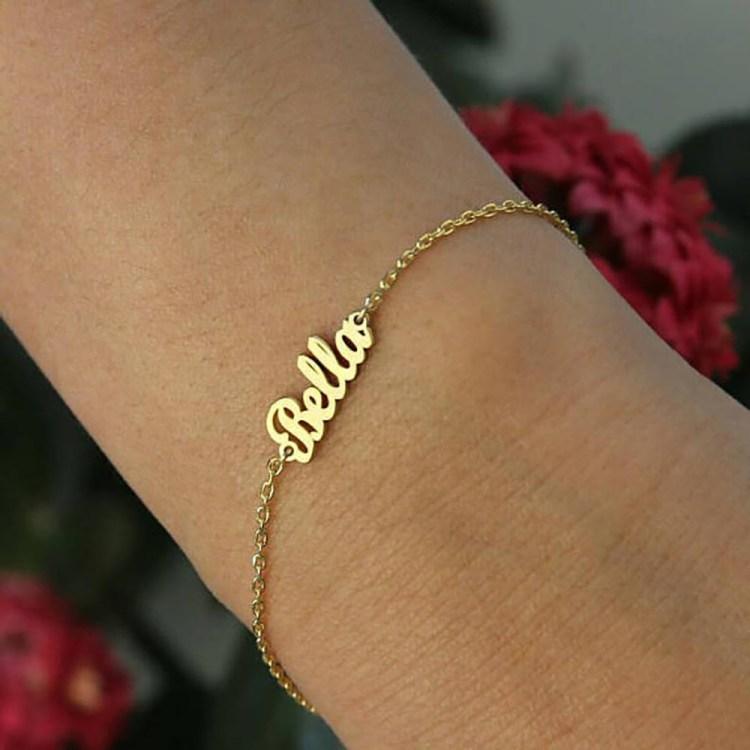 Bold Name Bracelet