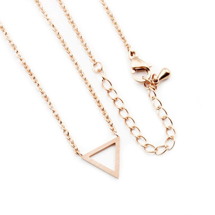 best jewelry collection with geometric minimalist necklace