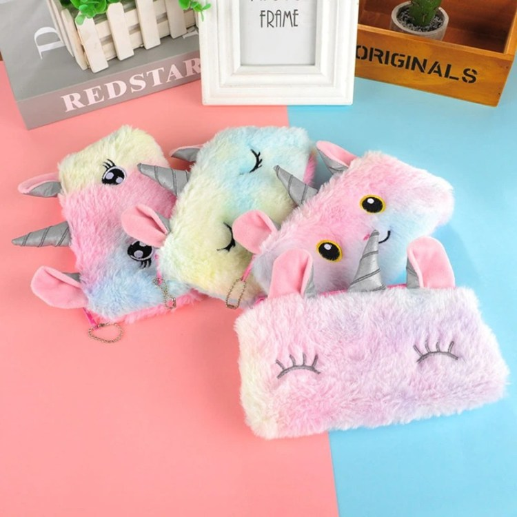 unicorn design pencil case for kids