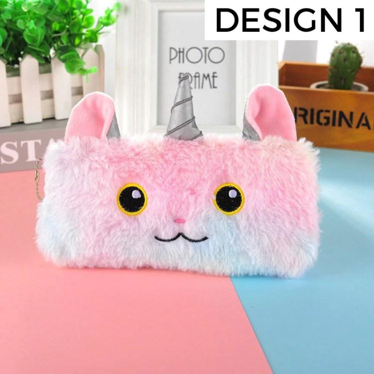 unique unicorn pencil case design