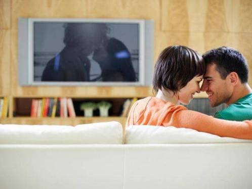 couple watch porn together