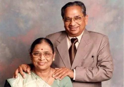 Piyushji with his wife