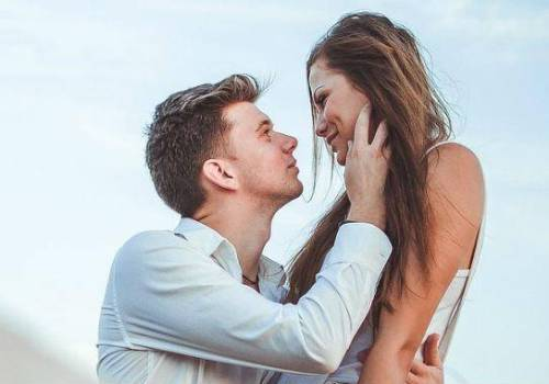 One of the exercises in couples therapy is to look into your spouse's eyes. It helps in reigniting love
