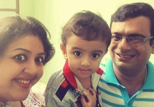 Sonia with family