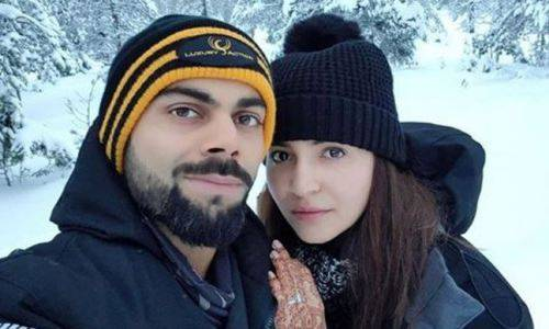 virat and anushka on their honeymoon