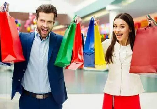 couple - shopping