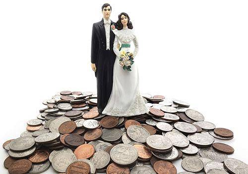 Money matters before marriage