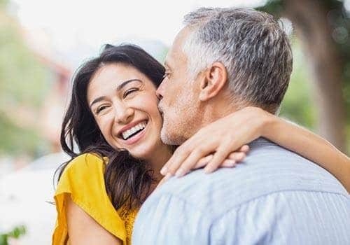 Younger woman may be having daddy issues