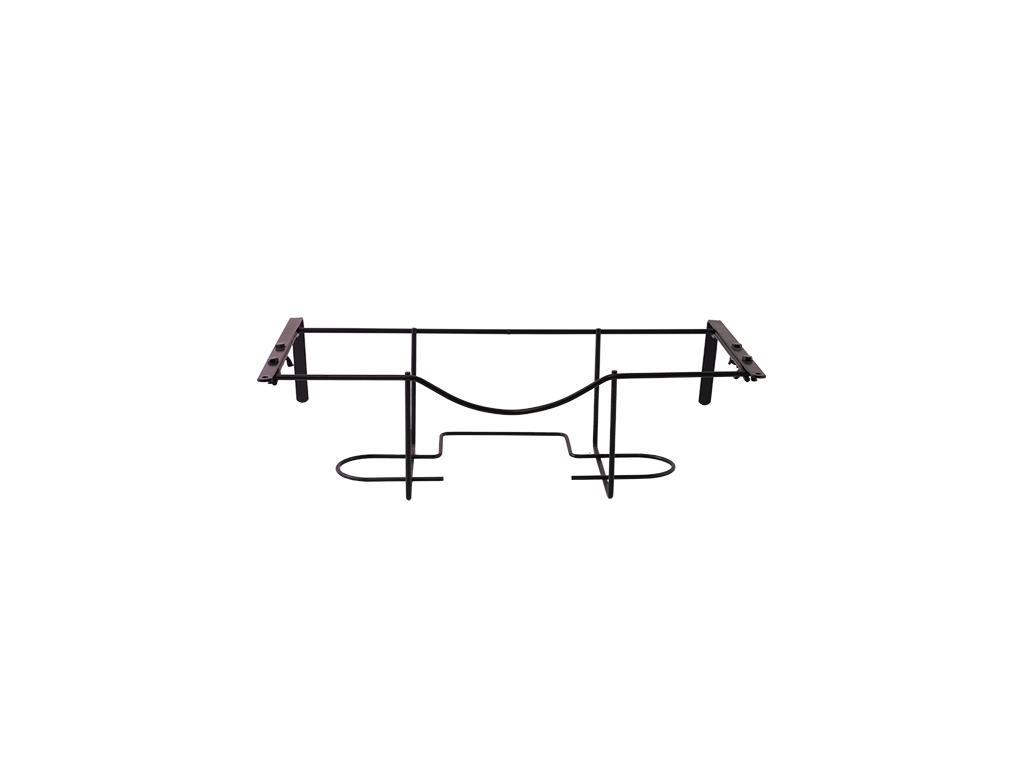 Balconiera regolabile in filo metallico