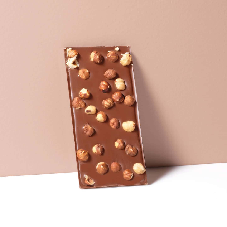 tablette chocolat lait noisettes 36 100g
