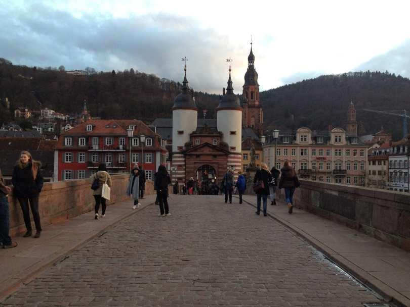 Altebrücke em Heidelberg na Alemanha