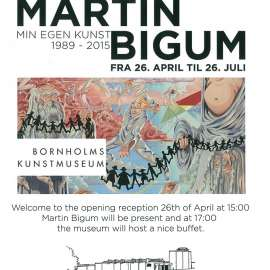 Bonte Foundation Martin Bigum painting featured in international exhibitions