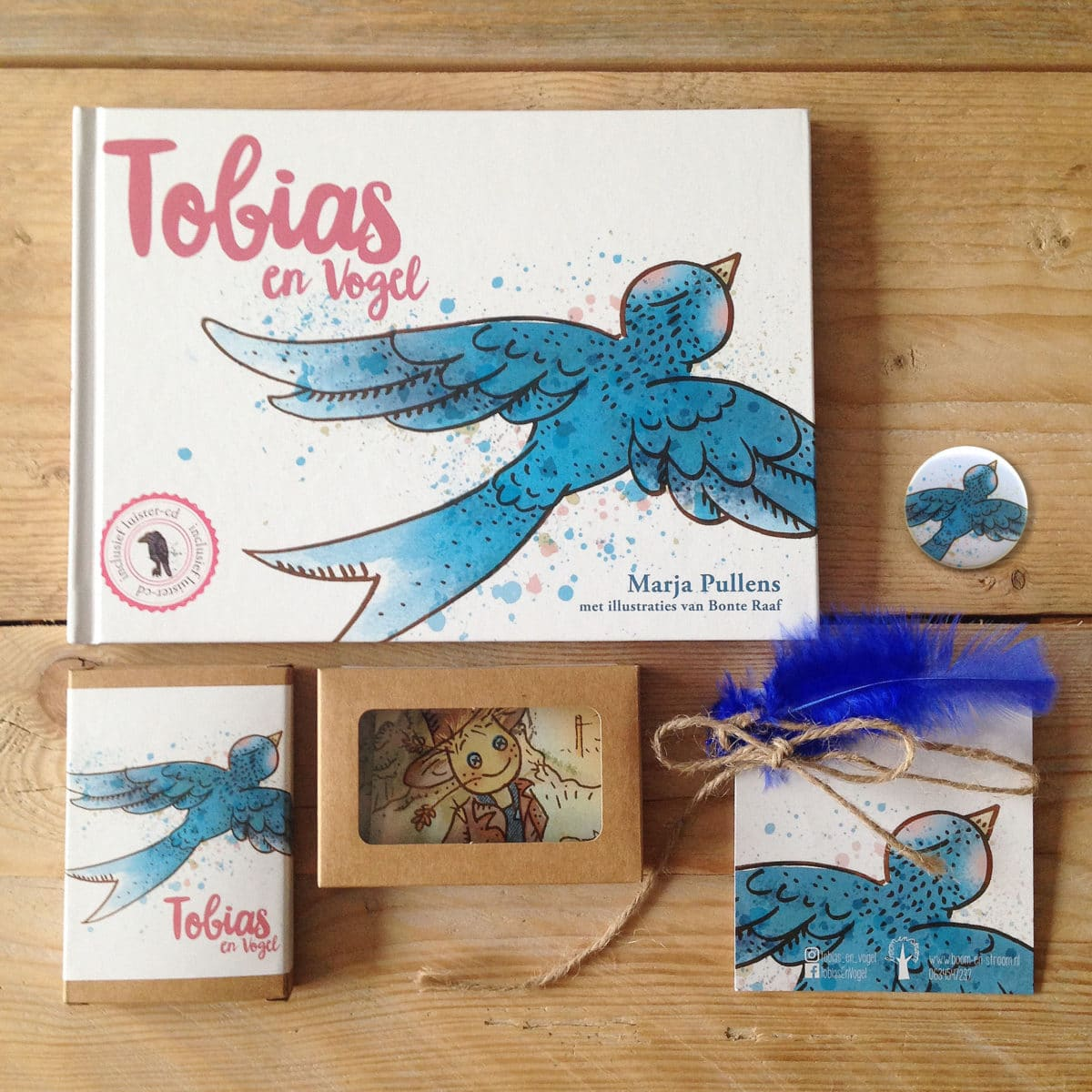 illustraties kinderboek tobias en vogel