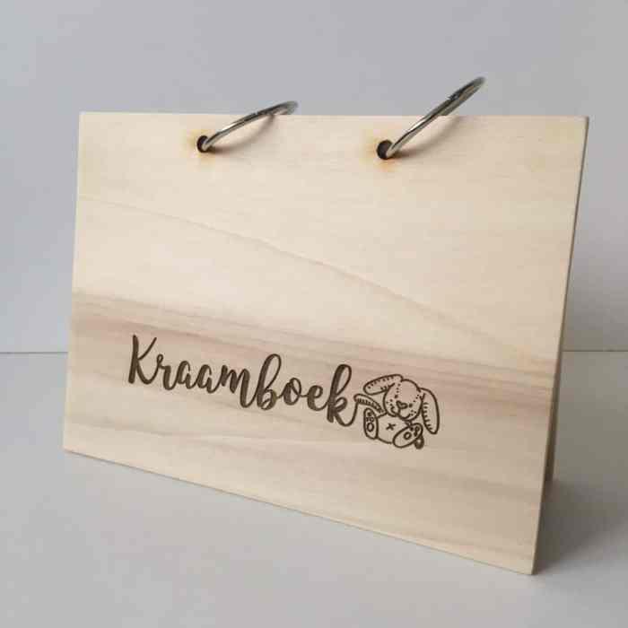 houten kraamboek