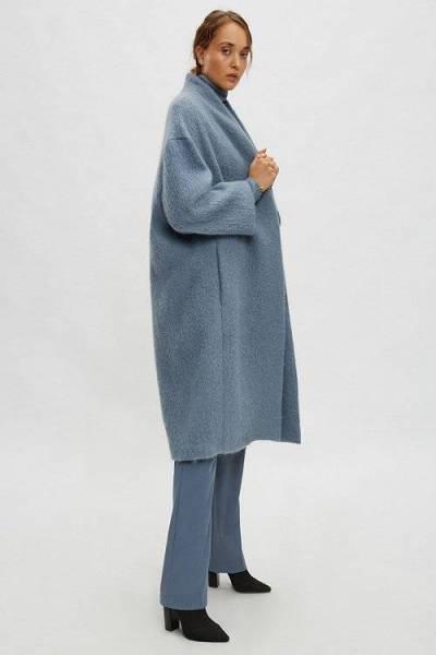 Bauprey coat blue Drykorn
