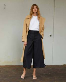 Silvia trench coat tiger's eye Second Female