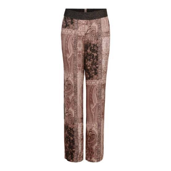 Wide leg pants off white w.rouge Gustav