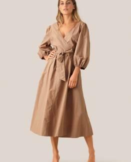 Phoebe wrap midi dress Second Female