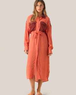 Phlake ls dress apricot brandy Second Female