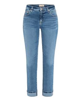 Sustainable comfort stretch blue denim Cambio