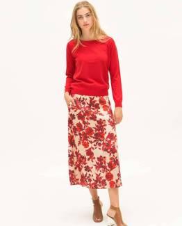 Teva red flowers Nathalie Vleeschouwer