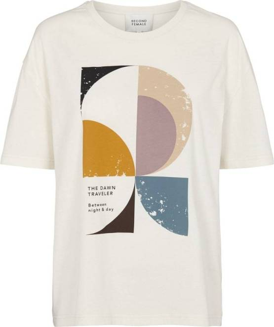 Dawn ovesize tee off white Second Female