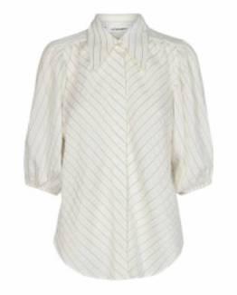 Briella stripe shirt off white Co' Couture