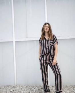 Pants laila stripes viscose Alchemist