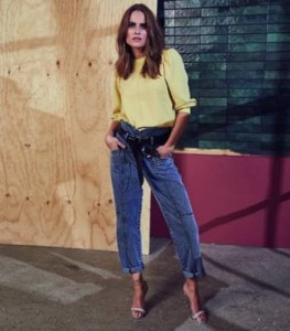 Co'Couture Zora jeans blue stonewash
