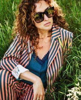 Blazer stripes lucky charms by Katja Pom Amsterdam