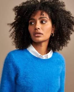 Datti02 knitwear blue eyes Bellerose