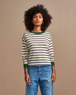 Senia02 t-shirts stripe E Bellerose