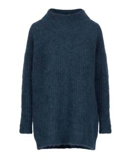 Sweater steel blue Noman'sland