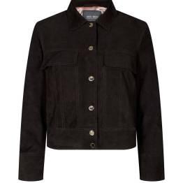 Malina suede jacket mole brown Mos Mosh