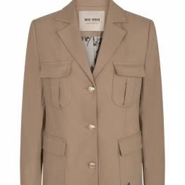 Riva twiggy jacket burro camel melange Mos Mosh