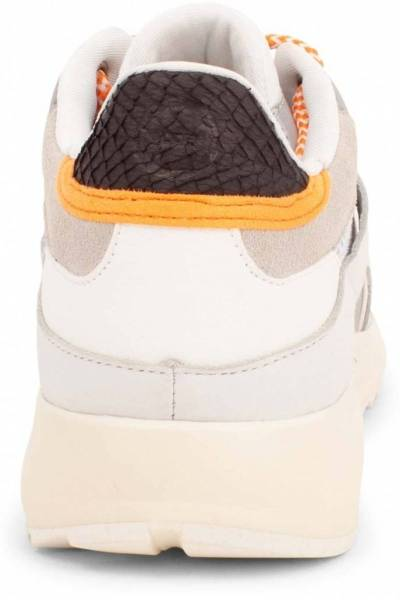 Eve leather/textile bright white Woden