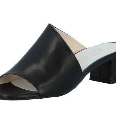 Kaiser black sandals Ca'shott Copenhagen