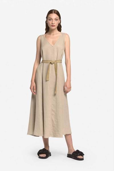Dress beige ottod'Ame