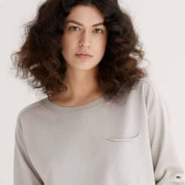 Pullover 3/4 sleeves porcelain Zenggi