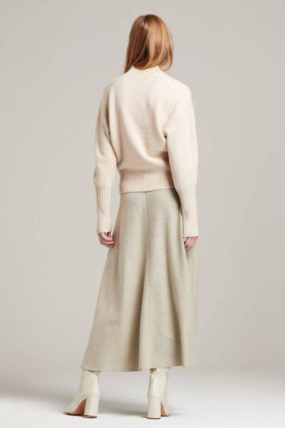 Long skirt greige Zenggi
