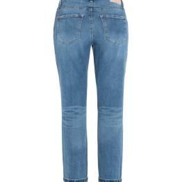 Sustainable comfort stretch blue denim Cambio
