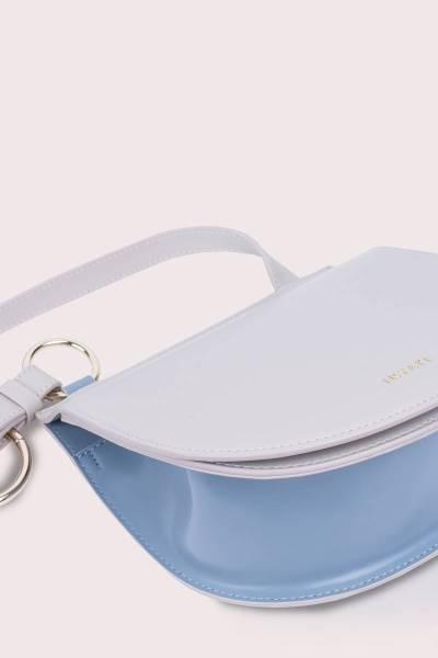 Handbag Tara slate blue/cream Inyati