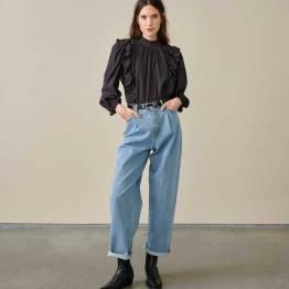 Hariet blouses off black Bellerose