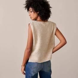 Nilto knitwear beige melange Bellerose