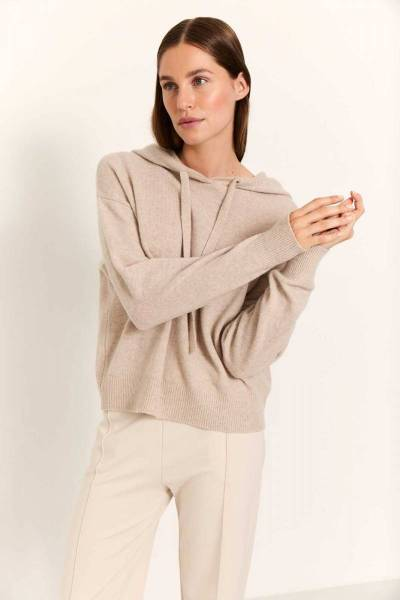 Elin pullover sand Knit-ted