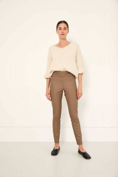 Amber pants latte Knit-ted
