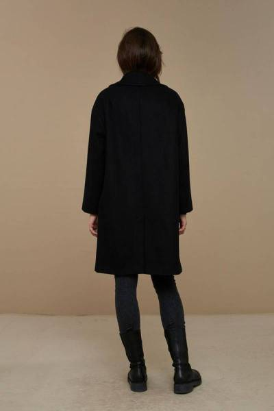 Florence coat black By-Bar
