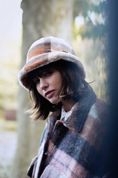 Bretia hat white one size Barts Amsterdam
