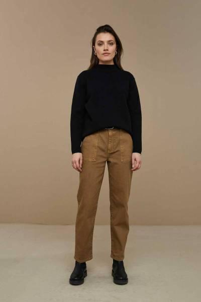 Vera pullover black By-Bar